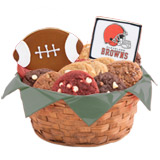 WNFL1-CLE - Football Basket - Cleveland