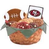 WNFL1-SF - Football Basket - San Francisco