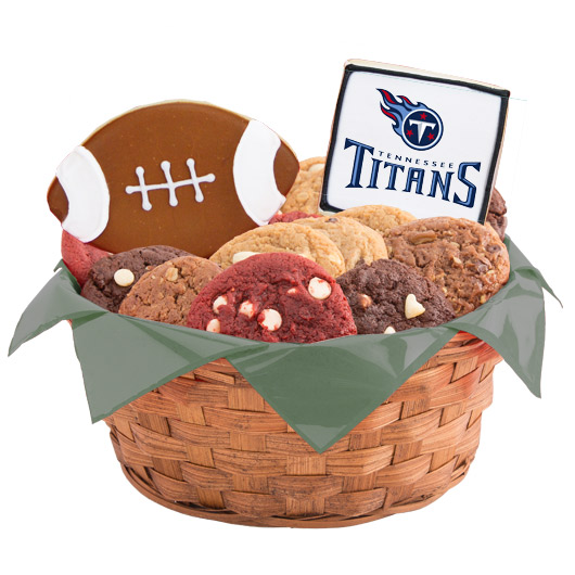 Football Cookie Basket - Tennessee