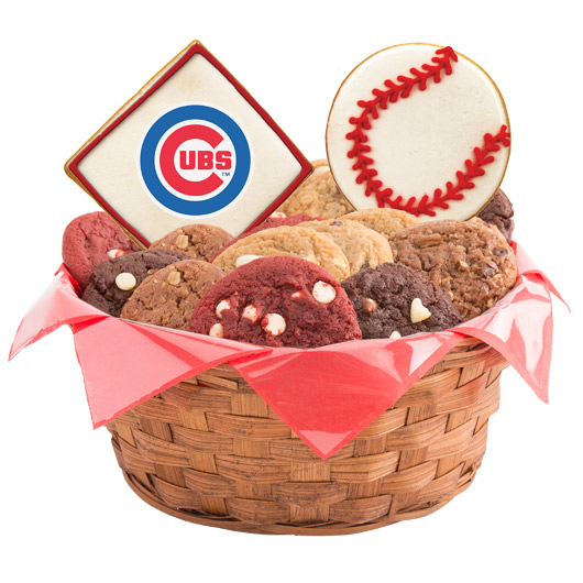 MLB Cookie Basket - Chicago Cubs