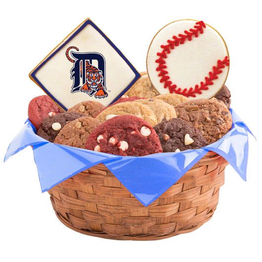 MLB Cookie Basket - Detroit Tigers