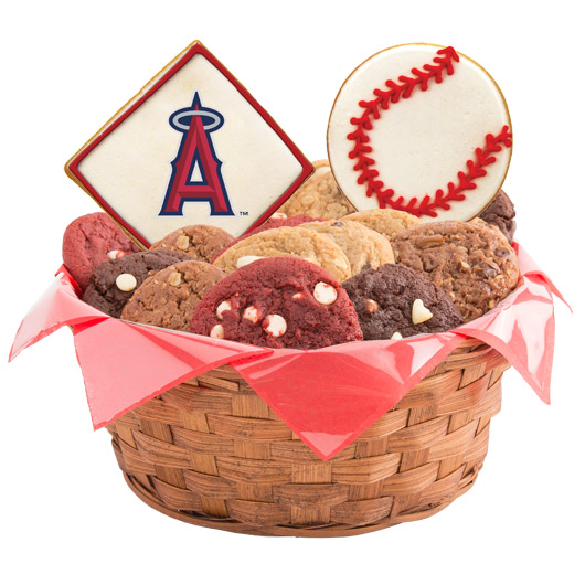 MLB Cookie Basket - Los Angeles Angels of Anaheim