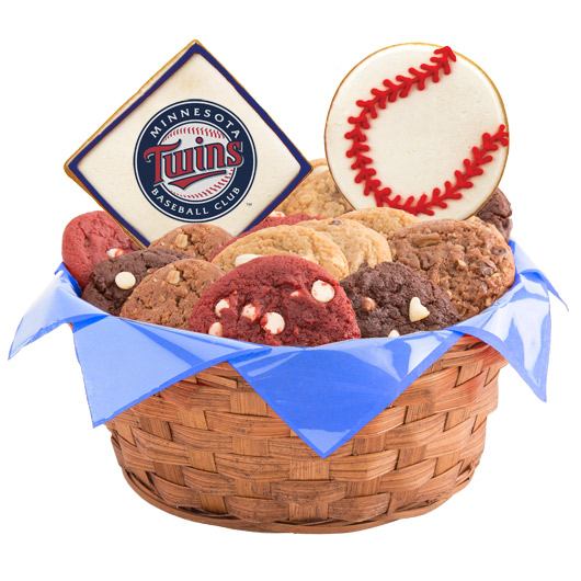 MLB Cookie Basket - Minnesota Twins