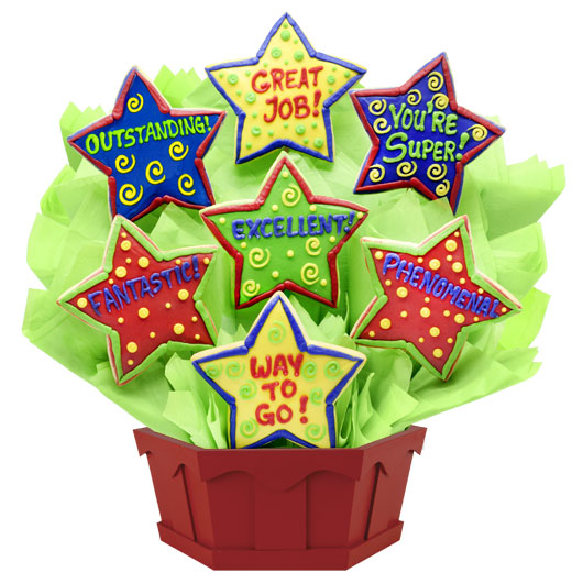 Appreciation Stars Cookie Bouquet