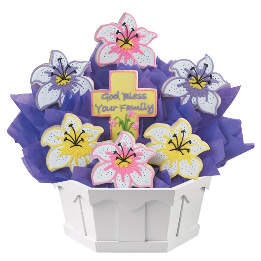 Flowers of Faith Cookie Bouquet