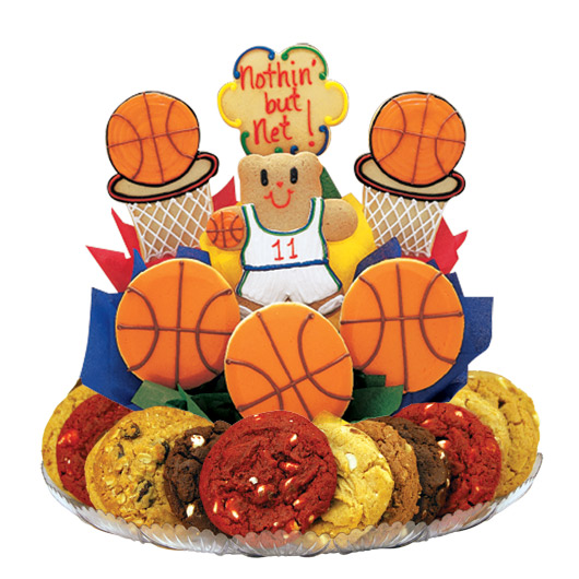 Basketball Gourmet Gift Basket