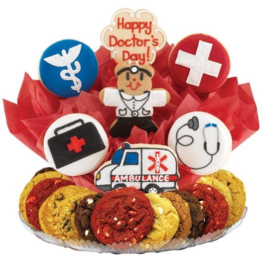 Drs. Day w/Ambulance Gourmet Gift Basket