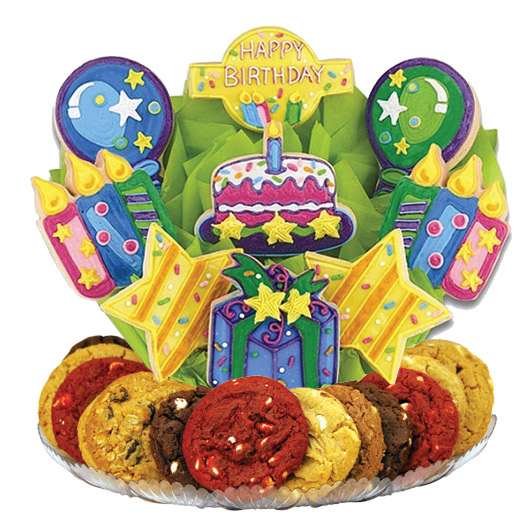 Confetti and Candles Bright Gourmet Gift Basket