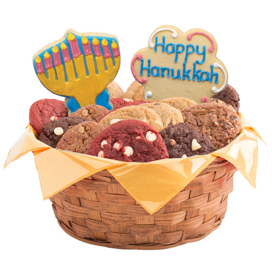 A Hanukkah Festival Cookie Basket