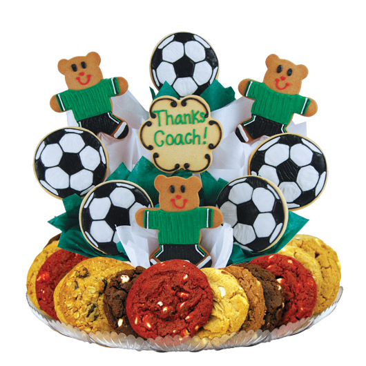 Soccer Thank You Gourmet Gift Basket
