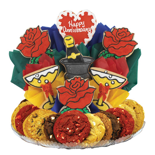 Anniversary Celebration Gourmet Gift Basket