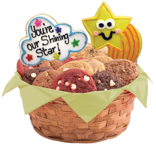 Shining Star Cookie Basket