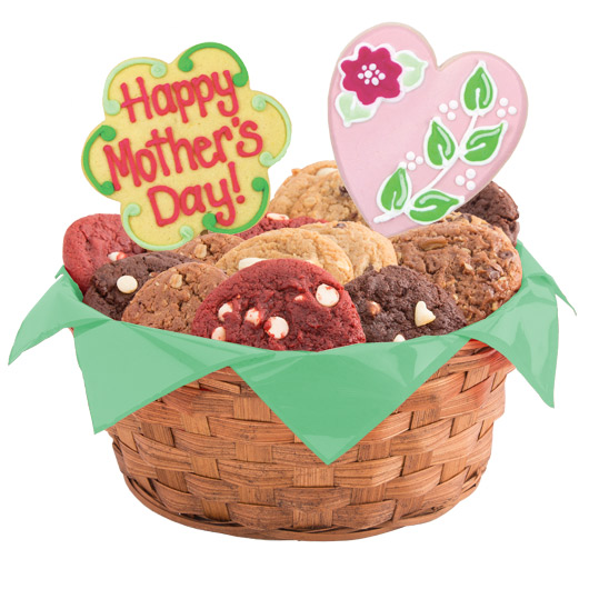 Love for mom gluten free cookie basket cookies by design gluten free love for mom basket negle Image collections
