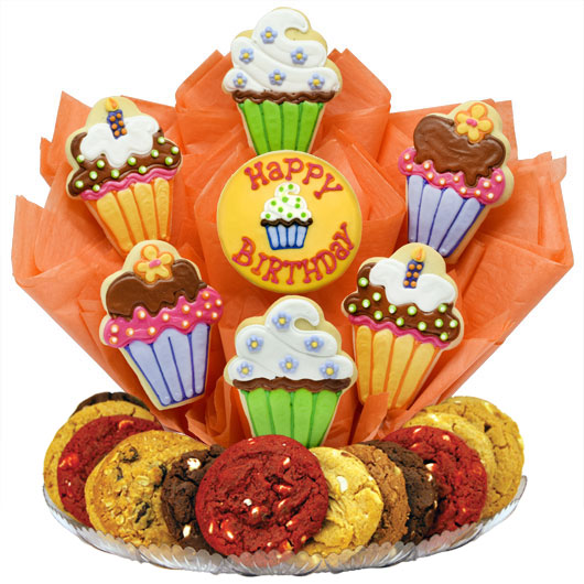 Cute as a Cupcake Gourmet Gift Basket