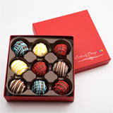 CBT9 - Assorted Chocolate Truffles - 9 Count