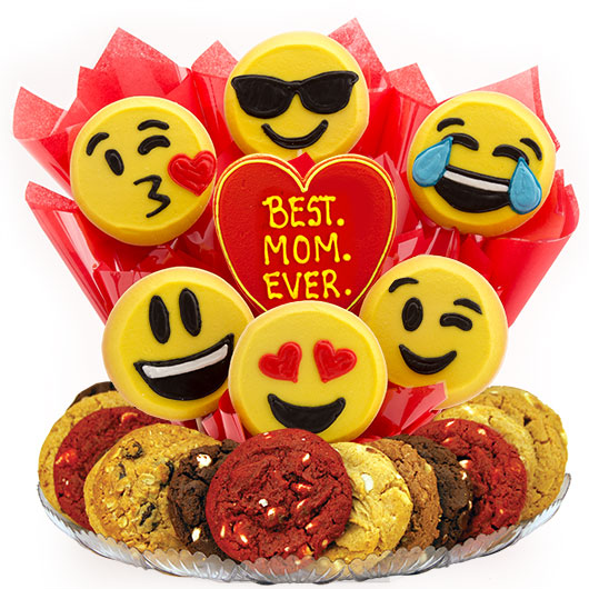 Sweet Emojis - Best. MOM. Ever. Gourmet Gift Basket