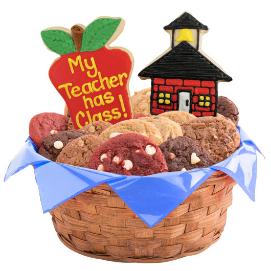 School Days Cookie Basket