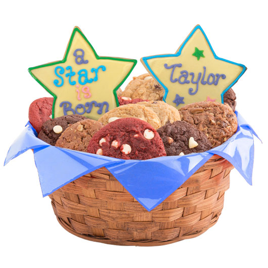 Star Arrival Cookie Basket