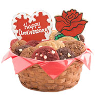 W254 - Anniversary Celebration Basket