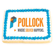 NGPLGO6 - Large Rectangle Logo Cookies