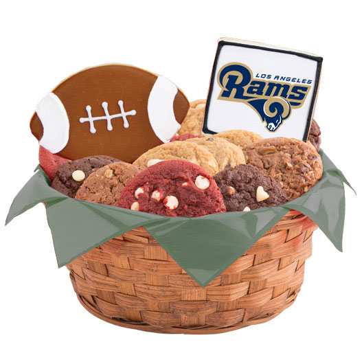 NFL Los Angeles Rams Gift Basket | Cookies by Design