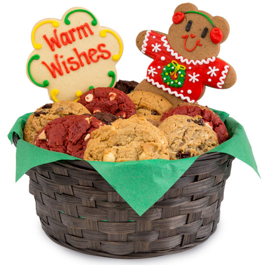 Beary Ugly Sweaters Cookie Basket