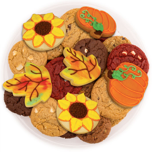 Harvest Happiness Cookie Tray