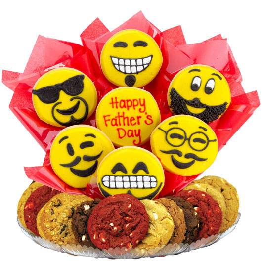 Sweet Emojis – Happy Father's Day Gourmet Gift Basket