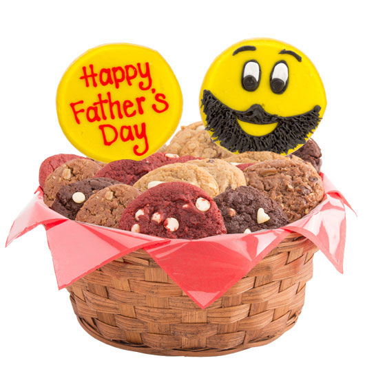 Sweet Emojis – Happy Father's Day Cookie Basket