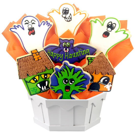 Happy Haunting Cookie Bouquet