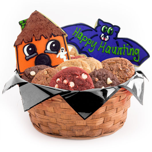 Happy Haunting Cookie Basket