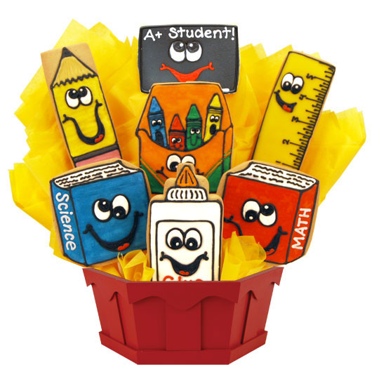 Wacky School Cookie Bouquet
