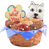 W132 - Puppy Love Basket