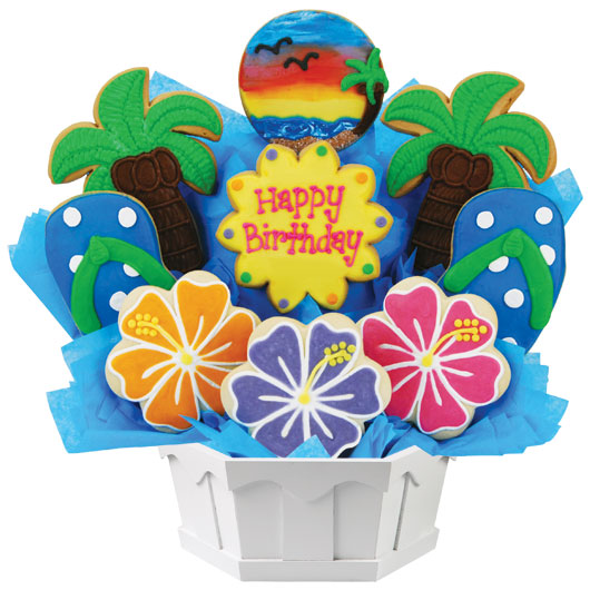 Happy Birthday Cookie Bouquets Cookies by Design