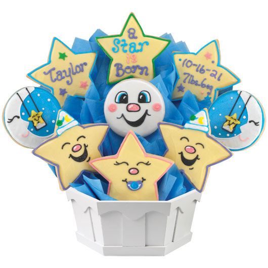 Star Arrival Cookie Bouquet