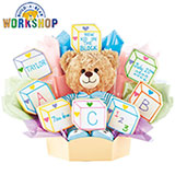 BAB109-BOY - Build-A-Bear - Baby Blocks - Boy