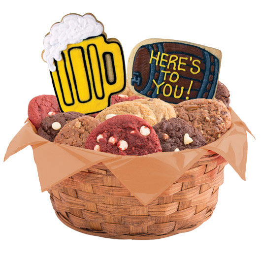 Heres To You Cookie Basket
