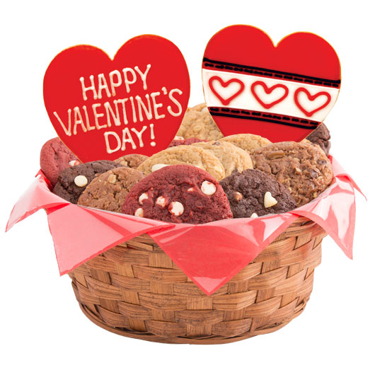 Lots of Love Cookie Basket