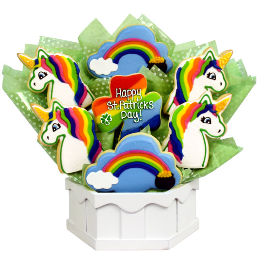 Magical St Patrick's Day Cookie Bouquet