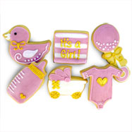 CFA471 - It's a Girl Cookie Favors