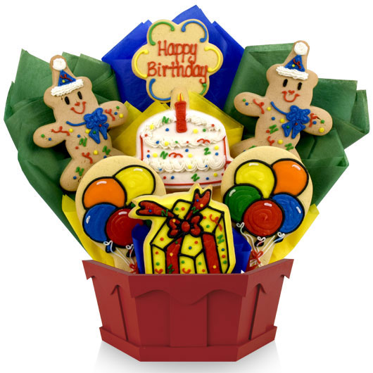 Party Cookie Bouquet