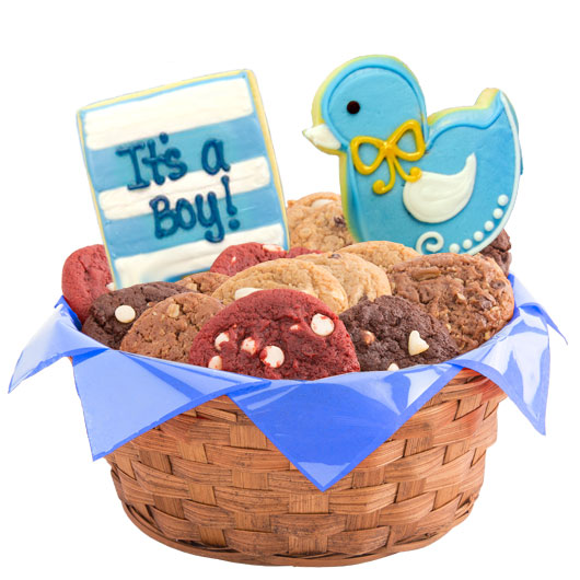 Its A Boy Cookie Basket