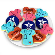 TRY463 - Nurses Rock Favor Tray