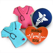 CFA463 - Nurses Rock Cookie Favors