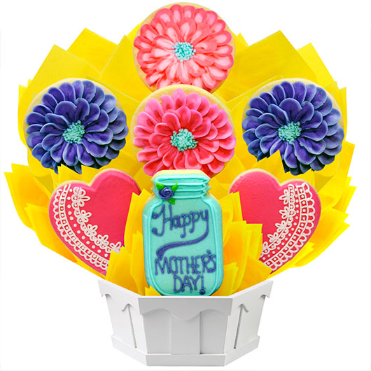 Flowers for Mom Cookie Bouquet