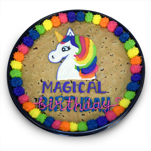 Unicorn Cookie Cake