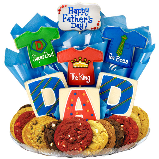 Shirts for Dad Gourmet Gift Basket