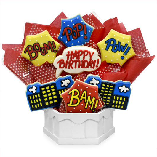 Party POP Cookie Bouquet