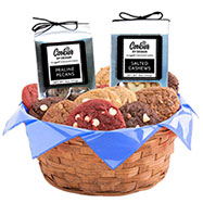 AG27 - Gourmet Combo Basket - 2 Dozen with Nut Set