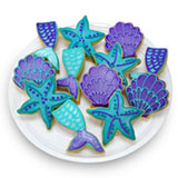 TRY481 - Majestic Mermaids Favor Tray